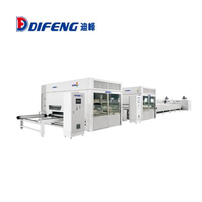 迪峰机械-木门自动喷漆生产线(UV)喷漆生产线