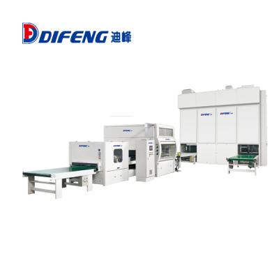 迪峰机械-往复式自动喷漆生产线(立体式干燥窑)喷漆生产线