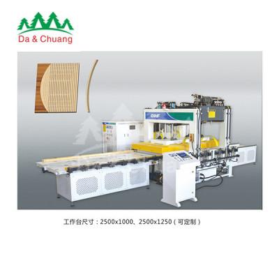 达创机械—GPB-68PS双台面高频拼板机(拼板、组框、实木封边)