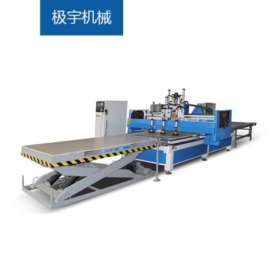 极宇机械-CNC5-数控开料排孔加工中心、数控开料机、板式家具生产线、定制家具设备
