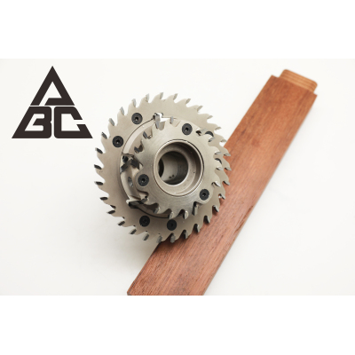焊接式榫刀头(双锯片)