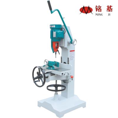 铭基机械-MZ1610C立式单轴榫槽机  方眼钻孔机