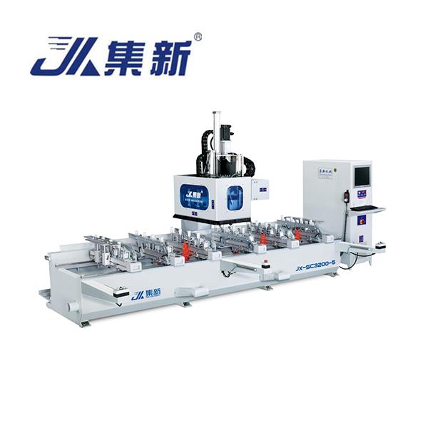 集新机械-JX-SC3200-4X2 数控榫槽机
