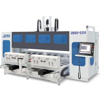 集新JX-ZX1000-4x4双工位钻铣加工中心