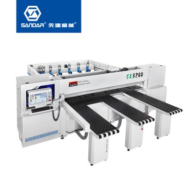 先达数控裁板锯-SK-3200SP 全自动数控裁板锯